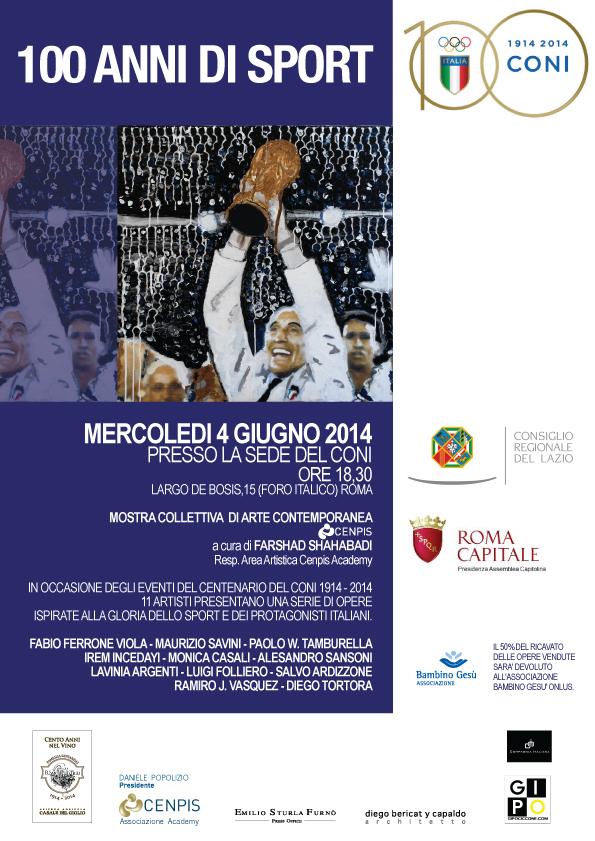 """Photo of """"100 anni di sport"""". Arte e Sport uniti per fare del bene"""