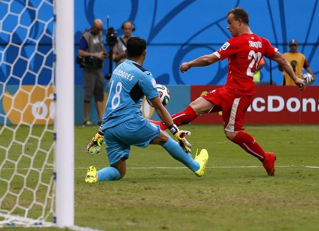 Photo of Mondiali Brasile 2014: Shaqiri abbatte l'Honduras. Svizzera agli ottavi