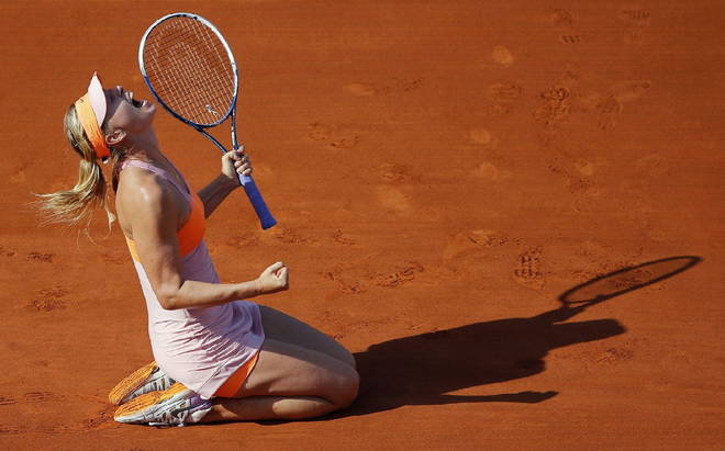 Photo of Tennis, Roland Garros: la regina di Parigi è Maria Sharapova!