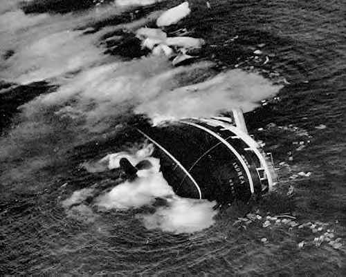 Photo of 58 anni fa il naufragio Andrea Doria