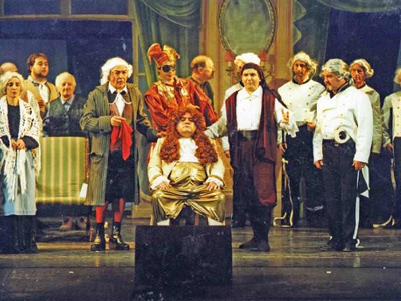 """Photo of Caracalla –  """"Il Barbiere di Siviglia""""  diretto da Stefano Montanari con il duo registico Mariani /Cannito"""