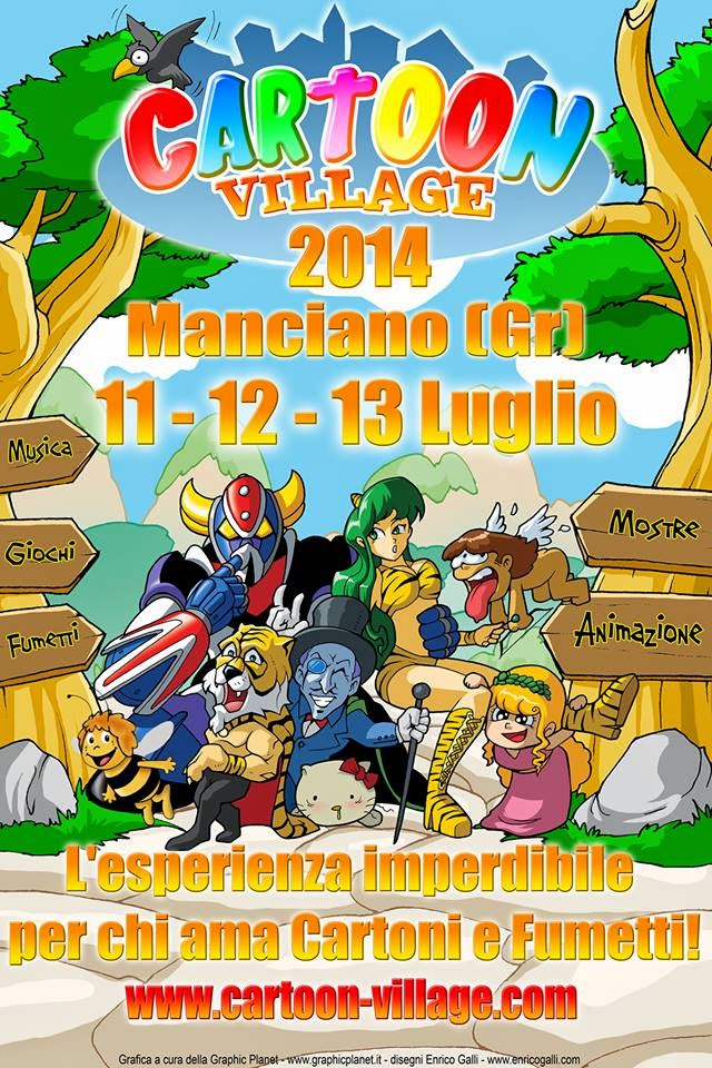Photo of Tre giorni tra i fumetti del Cartoon Village di Manciano
