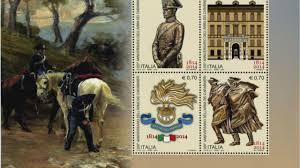 Photo of Quattro francobolli per il bicentenario dell'Arma dei Carabinieri