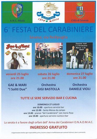 Photo of A Seveso, la 6^ festa del Carabiniere