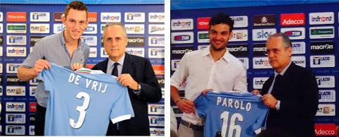 Photo of Lazio, parlano i gioielli: de Vrij e Parolo in conferenza stampa