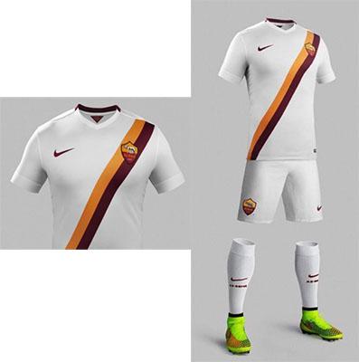 Photo of La seconda maglia della Roma 2014-15