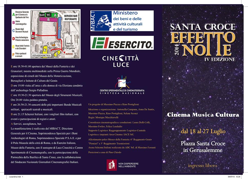 """Photo of È giunta alla IV^ edizione """"Santa Croce Effetto Notte"""""""