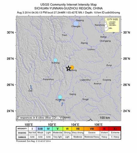 Photo of Terremoto nel  sud-est della Cina: è di  175 morti il primo bilancio