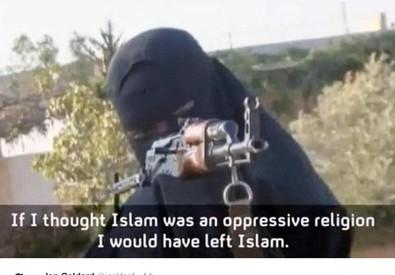 Photo of 'Voglio essere la prima donna britannica a uccidere un occidentale'