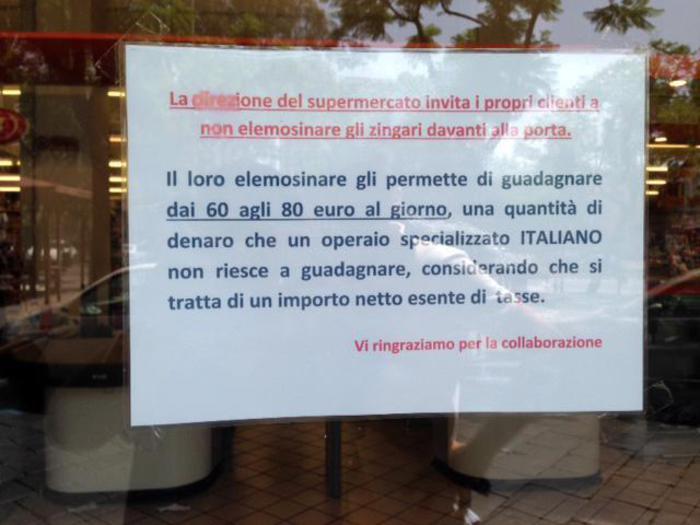 Photo of Parte da Catania la ribellione alle elemosine ai rom davanti ai supermercati. Ma anche davanti alle Chiese