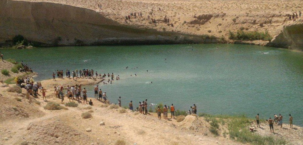 "Photo of Nel deserto tunisino,  spunta  il ""lago di Gafsa"" – VIDEO"