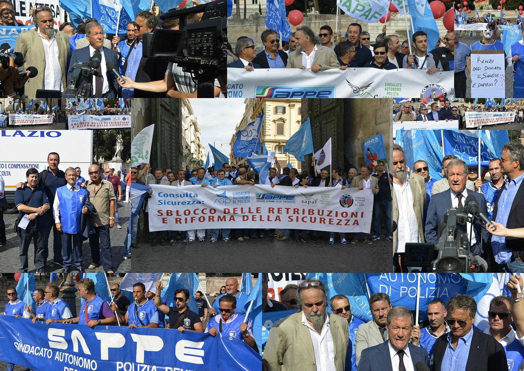 Photo of La grandiosa manifestazione delle Forze dell'Ordine del 27 agosto…e la riforma della giustizia….