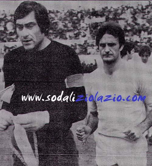 Pulici Felice portiere Lazio 1973-74 Lazio Genoa