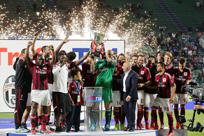 Photo of Trofeo Tim:  Vince il Milan
