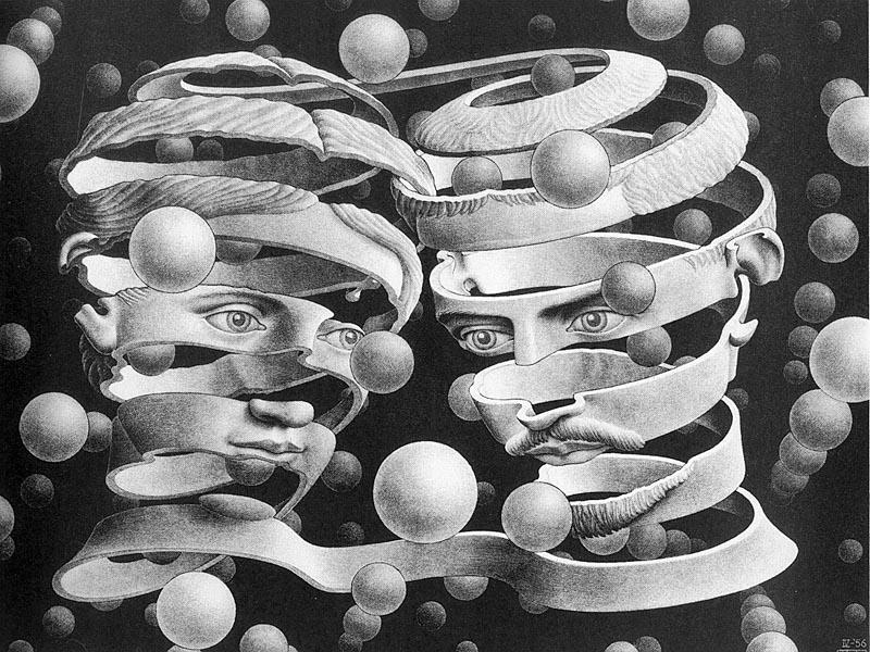 Photo of Escher ed il suo fantastico mondo