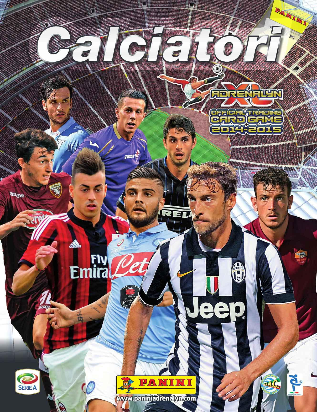 "Photo of Panini: è in edicola ""Calciatori Adrenalyn XL 2014-2015"""