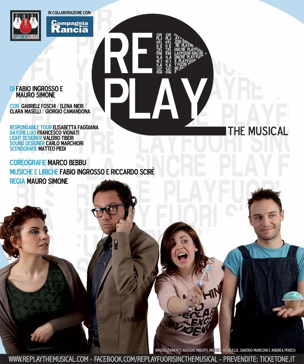 """Photo of Teatro La Cometa –  """"Replay-The Musical"""" di Fabio Ingrosso e Mauro Simone"""
