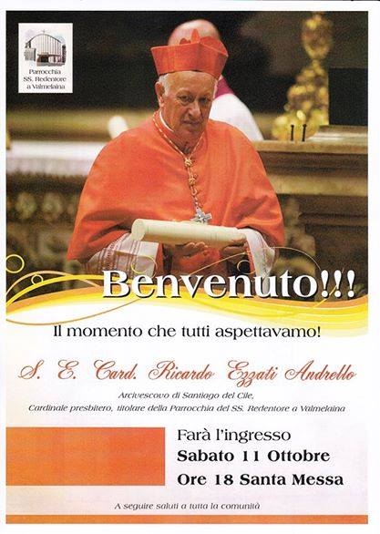 Photo of Fervono i preparativi per l'accoglienza del nuovo Cardinale assegnato dal Santo Padre alla Parrocchia del SS.Redentore di Roma