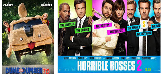 "Photo of I tre nuovi Stooges, Jason Bateman, Charlie Daye e Jason Sudeikis in: ""Horrible Bosses 2""."