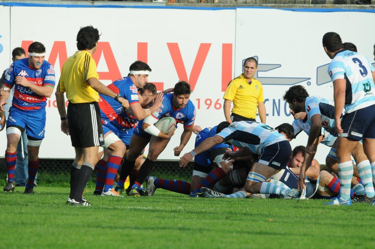 Photo of Rugby Eccellenza. Quinta giornata. Il Cammi Calvisano si riprende la vetta della classifica