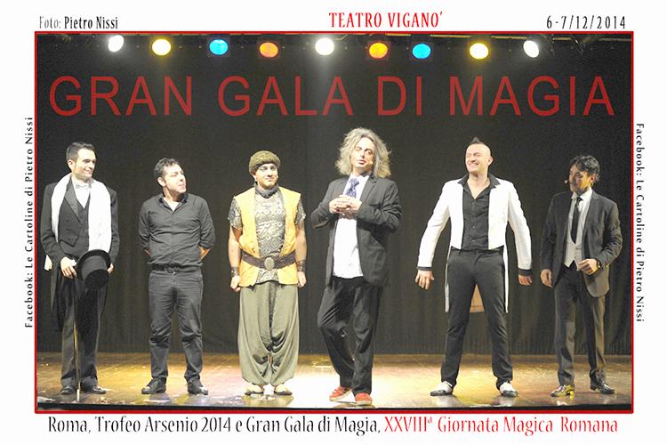 """Photo of Con un magico strepitoso successo, si è concluso il 28° Trofeo di magia """"Arsenio"""""""