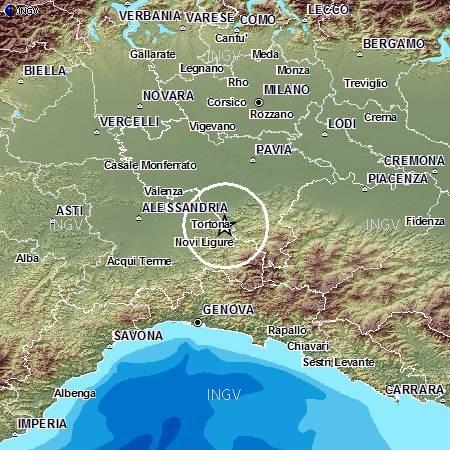 Photo of Terremoto di magnitudo 3.6 nell'Alessandrino. Al momento, non vengono segnalati danni