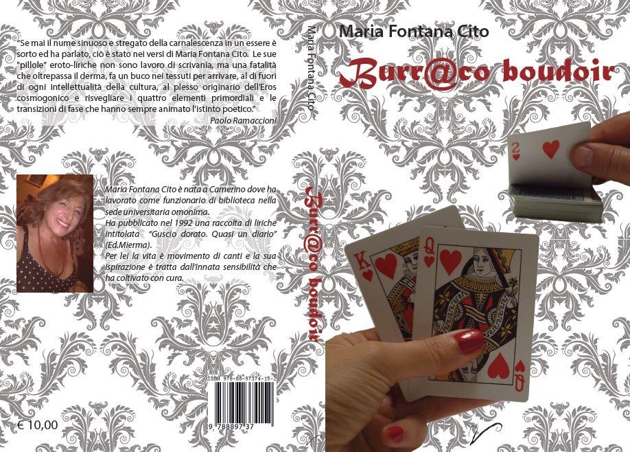"""Photo of Presentato il libro di poesie di erotismo e amore """"Burr@co boudoir"""" di Maria Fontana Cito"""