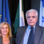 Direttrice IIC Valeria Rumori e Console Antonio Verde