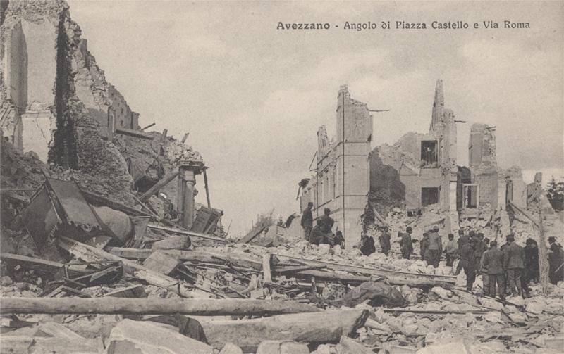avezzano terremoto 1915