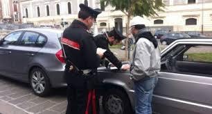 cc lotta parcheggiatori abusivi
