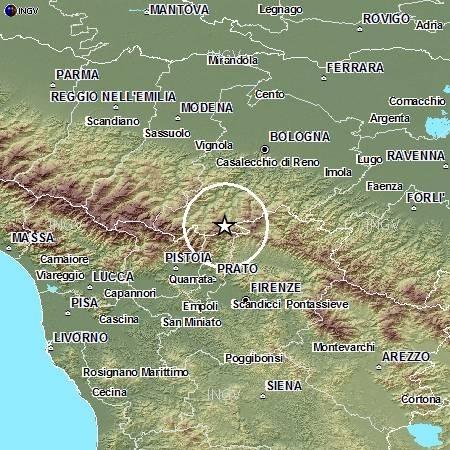 Photo of Terremoto – Sono ben ventitre, seppure di basso magnitudo, le scosse telluriche che stanno interessano l'Appennino Pistoiese/Bolognese