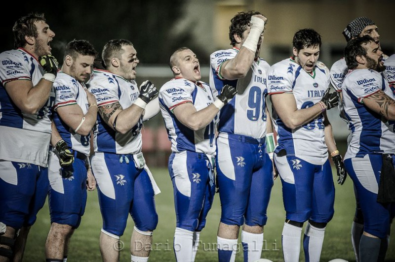 Photo of Football Americano. Italia-Svizzera 30-19