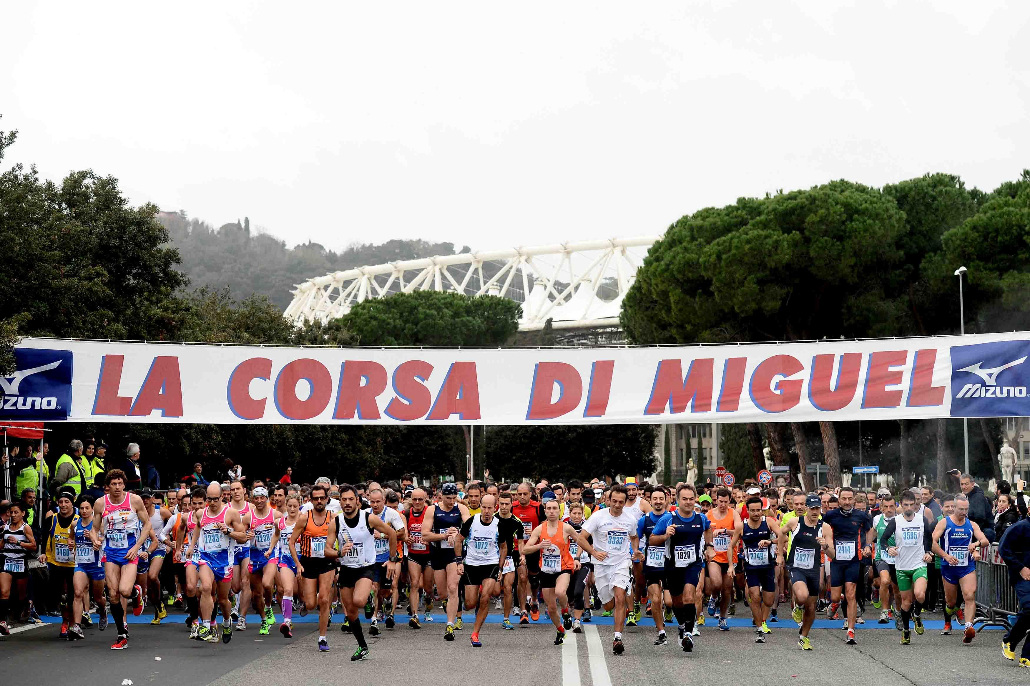 Photo of Il 25 gennaio a Roma la 16 edizione della Corsa di Miguel