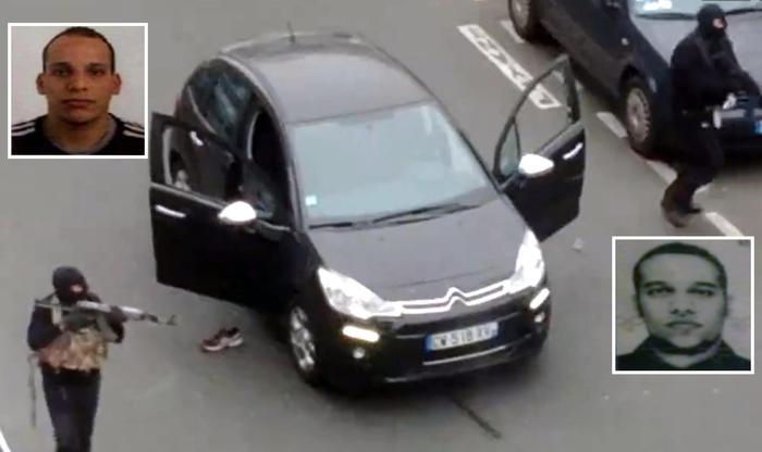 Photo of Parigi – Identificati i killer di Charlie Hebdo. Si costituisce l'autista. Fuori pericolo i feriti gravi