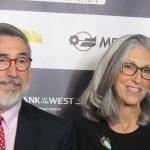 John Landis e moglie