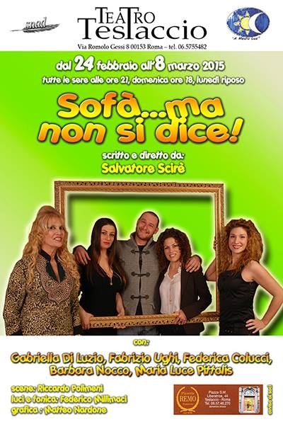 "Photo of ""Sofà… ma non si dice"" in scena al Teatro Testaccio"