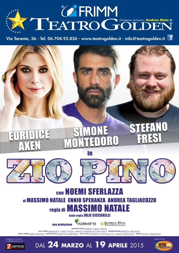 "Photo of ""Zio Pino"" al Teatro Golden"