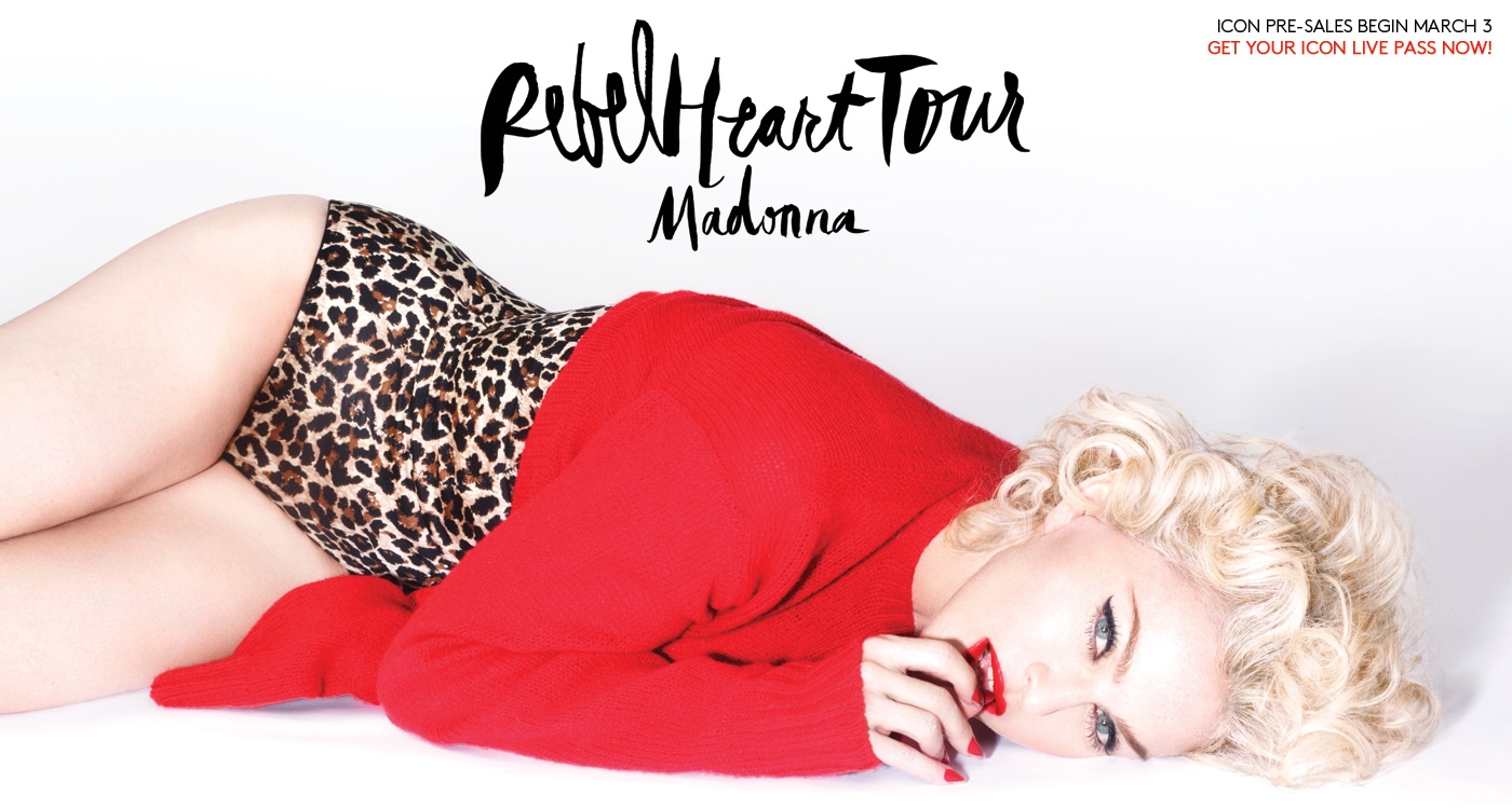 Photo of Torino unica tappa del Rebel Heart Tour di Madonna
