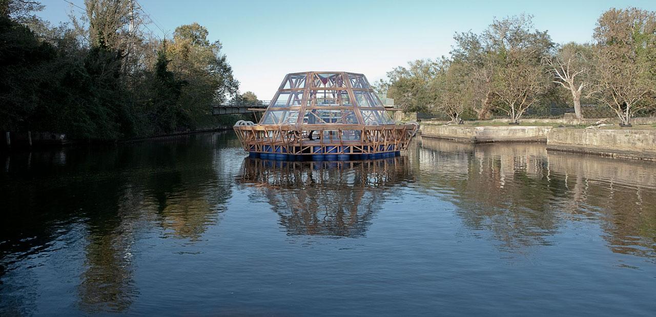 Photo of Jellyfish Barge, la prima serra solare galleggiante