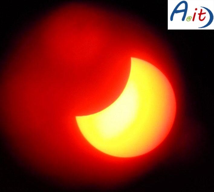 Photo of L'Eclissi di sole vista dal Parco Regionale dell'Appia Antica – Galleria Fotografica