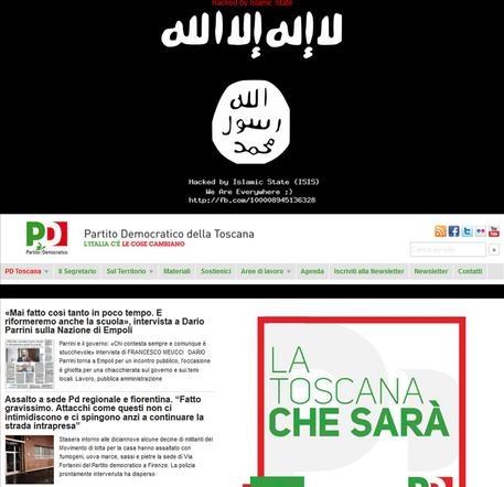 """Photo of L'Isis entra nella rete del Pd toscano. """"Hackerato dall'Isis. Siamo ovunque"""""""