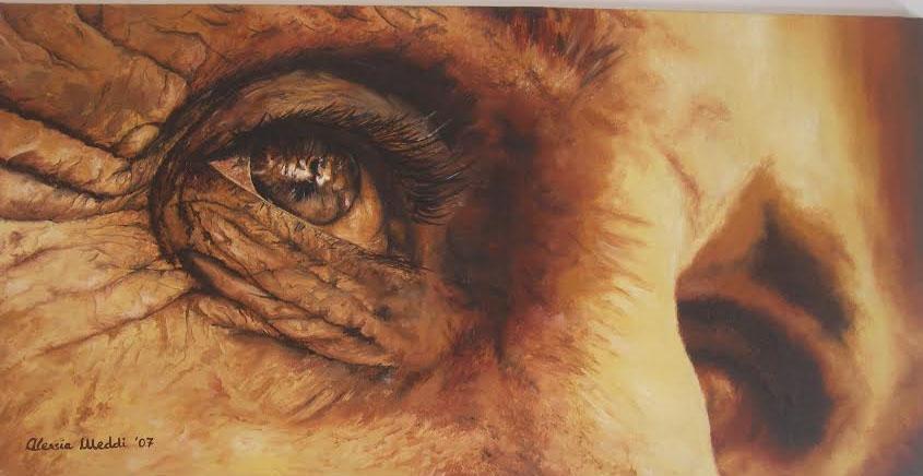 """Photo of A Testaccio una mostra da non perdere: """"Al di là degli occhi"""""""