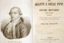 Photo of Richiamandoci agli insegnamenti di Cesare Beccaria!