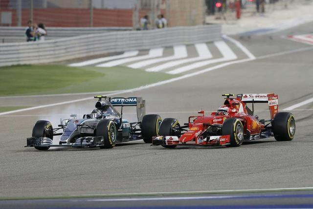 Photo of Flash  – F1 – GP di Bahrain (Sakhiri) – Sul podio più alto ancora Hamilton. Raikkonen secondo