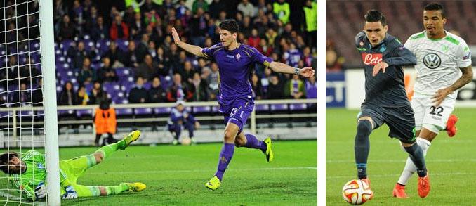 Photo of Europa League: le italiane in semifinale. Vince la Fiorentina ed il  Napoli pareggia