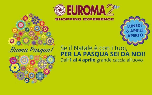 Photo of Pasqua all'Euroma2 è una grande festa per tutti