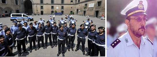 Photo of Oggi a Napoli, i funerali di Francesco Bruner, il Capitano della Polizia Locale di Napoli ucciso a fucilate