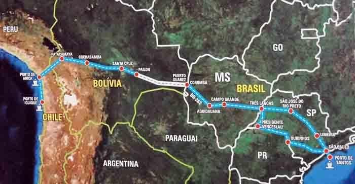 Photo of La Cina alla conquista dell'America Latina con la ferrovia transoceanica Brasile–Perù