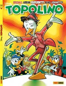 Photo of Fumetti. Per Topolino Jovanotti diventa Paperotti