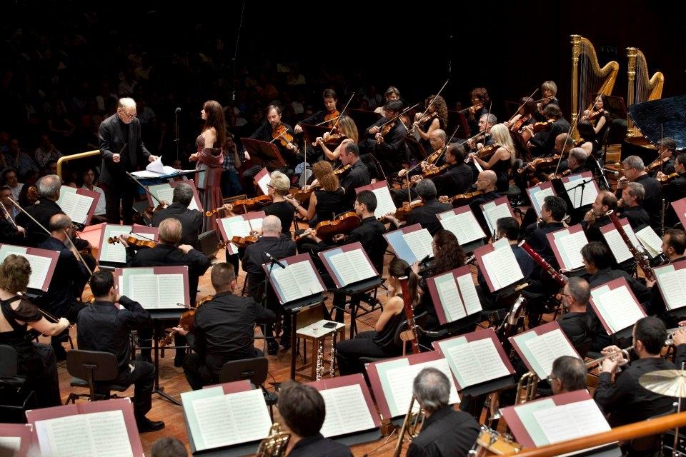 Photo of Morricone a Santa Cecilia dirige le sue musiche